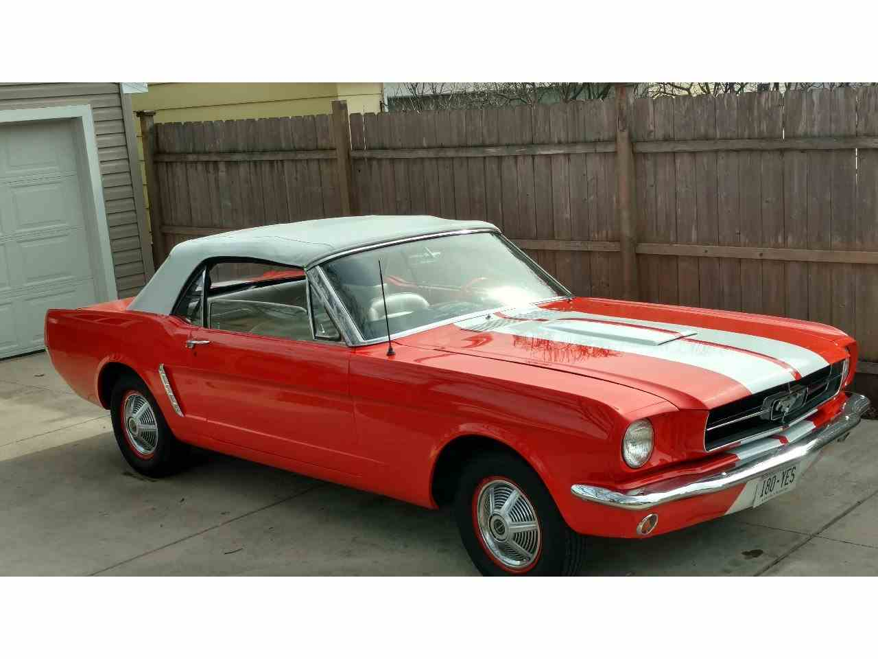 65 Ford Mustang - Ford Mustang For Sale Classiccars Com Cc