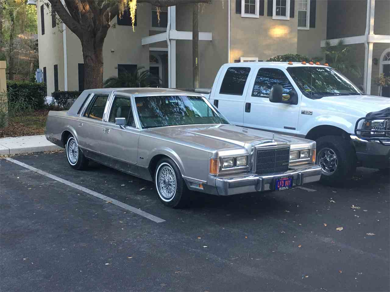 1989 car lincoln photo town Lincoln Town Car for Sale - Hemmings Motor News