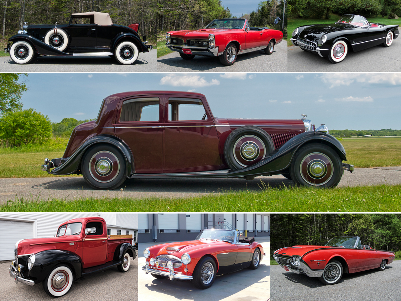 New England Auto Auction™ At Owls Head - 40th Annual New England ...