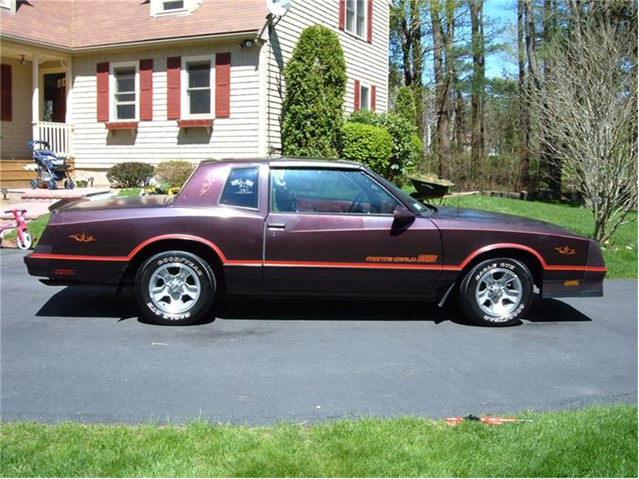 1986 chevrolet monte carlo ss for sale cc 14463. Black Bedroom Furniture Sets. Home Design Ideas