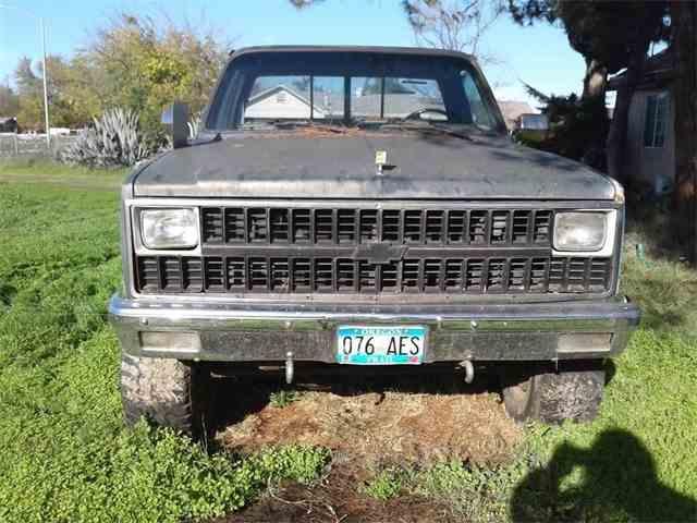 1982 Chevrolet K-20 | 1001146