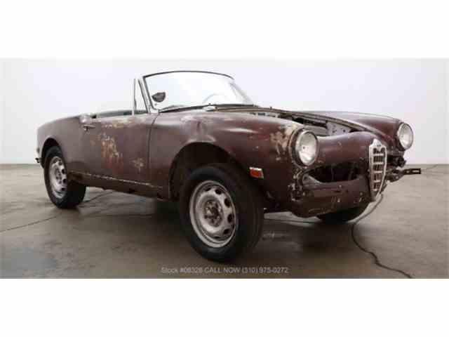 1963 Alfa Romeo Giulietta Spider Veloce | 1001229