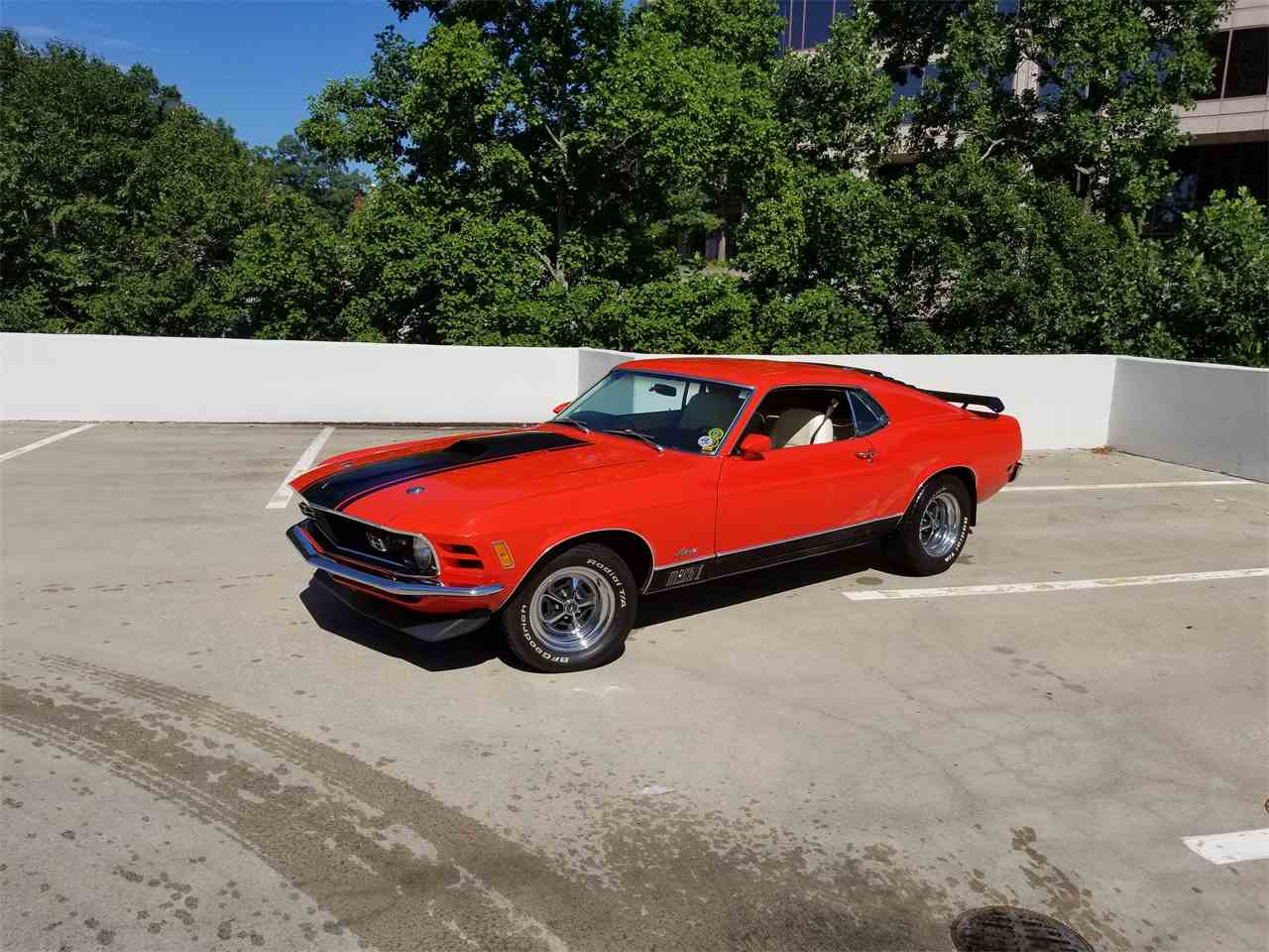 1970 ford mustang mach 1 for sale cc 1000123. Black Bedroom Furniture Sets. Home Design Ideas
