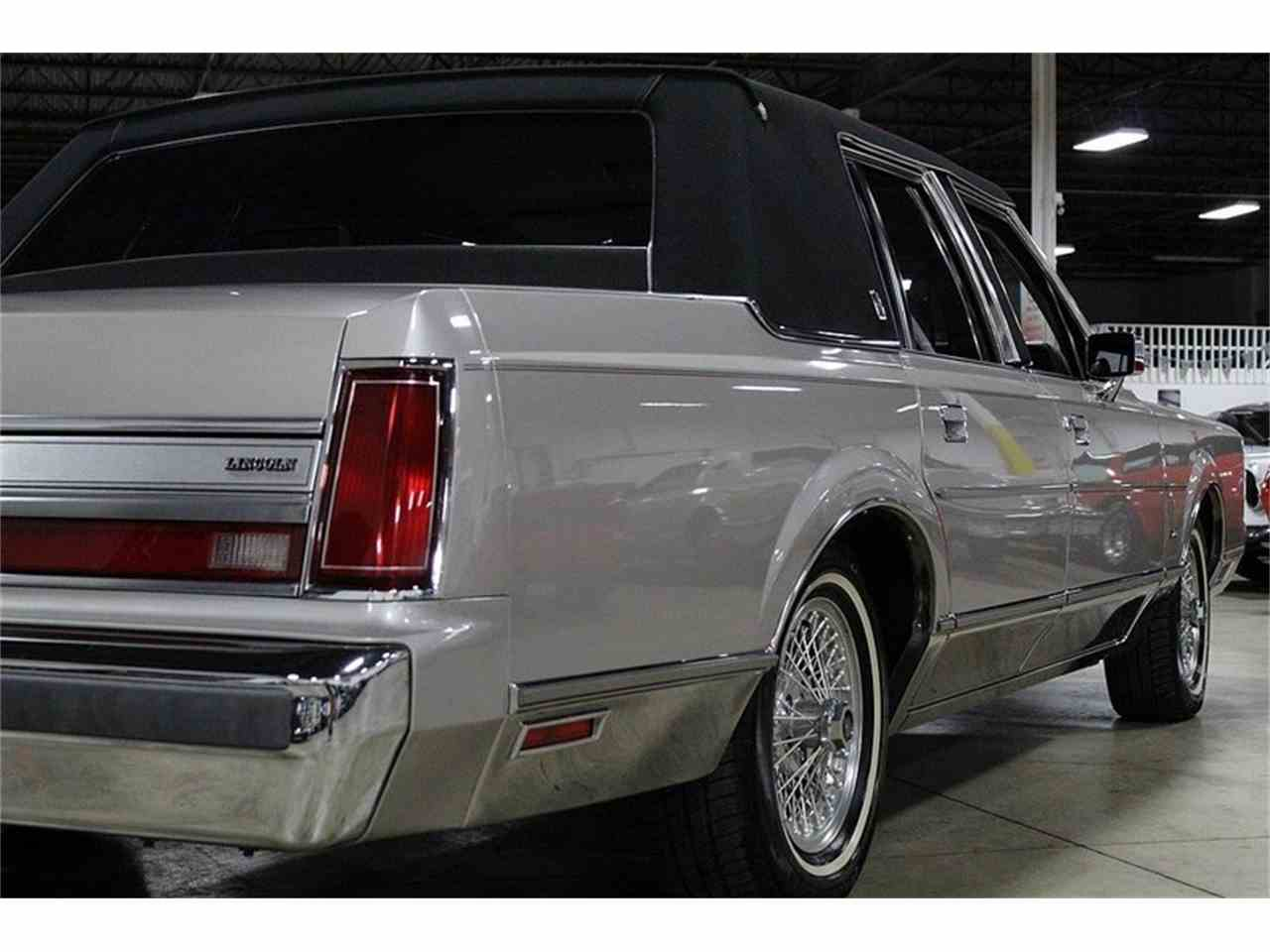 1988 Lincoln Town Car For Sale Classiccars Com Cc 1001248
