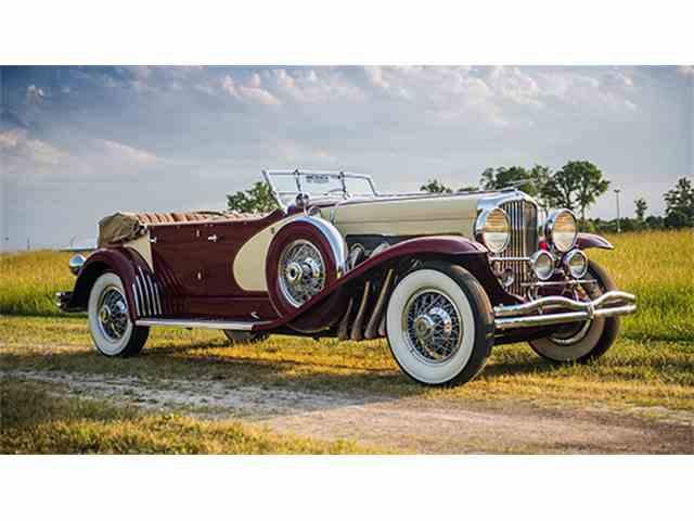 1933 Duesenberg Model SJ 'Sweep Panel' Phaeton by LaGrande | 1001256