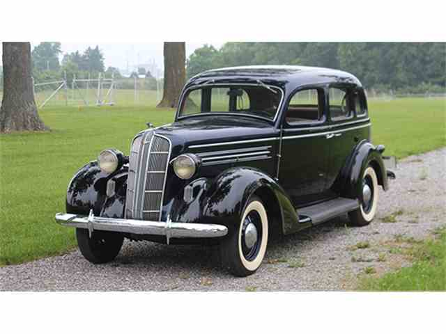 1936 Dodge D-2 Six Touring Sedan | 1001297