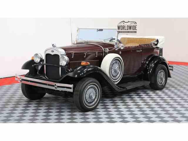 1931 FORD PHANTOM V8 CONVERTIBLE PHANTOM | 1001349