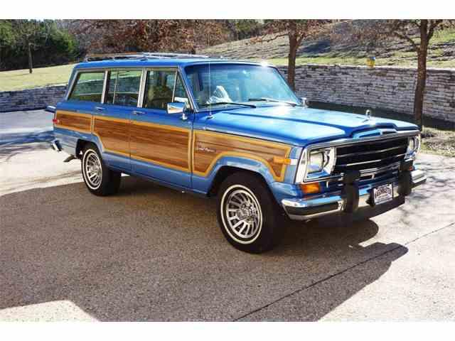 1991 Jeep Wagonmaster Grand Wagoneer   1001372
