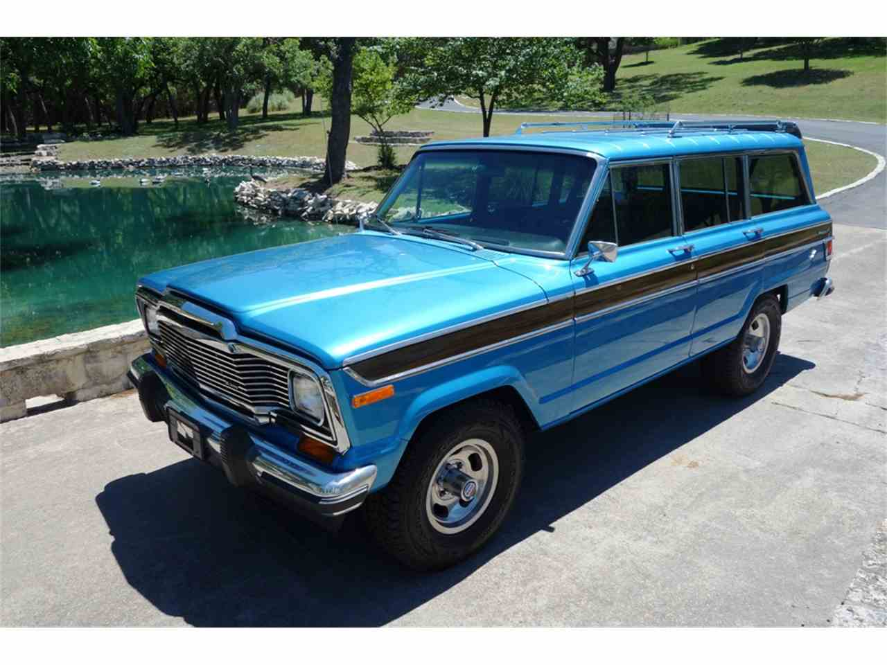 Jeep Wagoneer For Sale >> 1978 Jeep Wagonmaster Wagoneer for Sale | ClassicCars.com | CC-1001391
