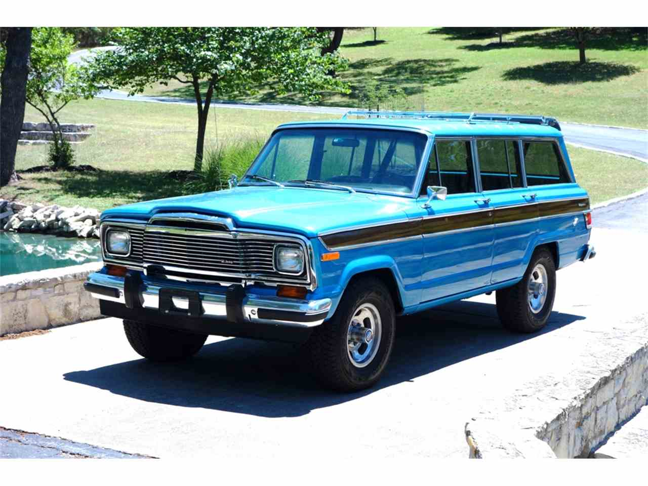 1978 jeep wagonmaster wagoneer for sale cc 1001391. Black Bedroom Furniture Sets. Home Design Ideas