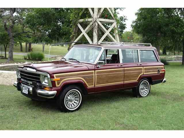 1991 Jeep Wagonmaster Grand Wagoneer   1001393