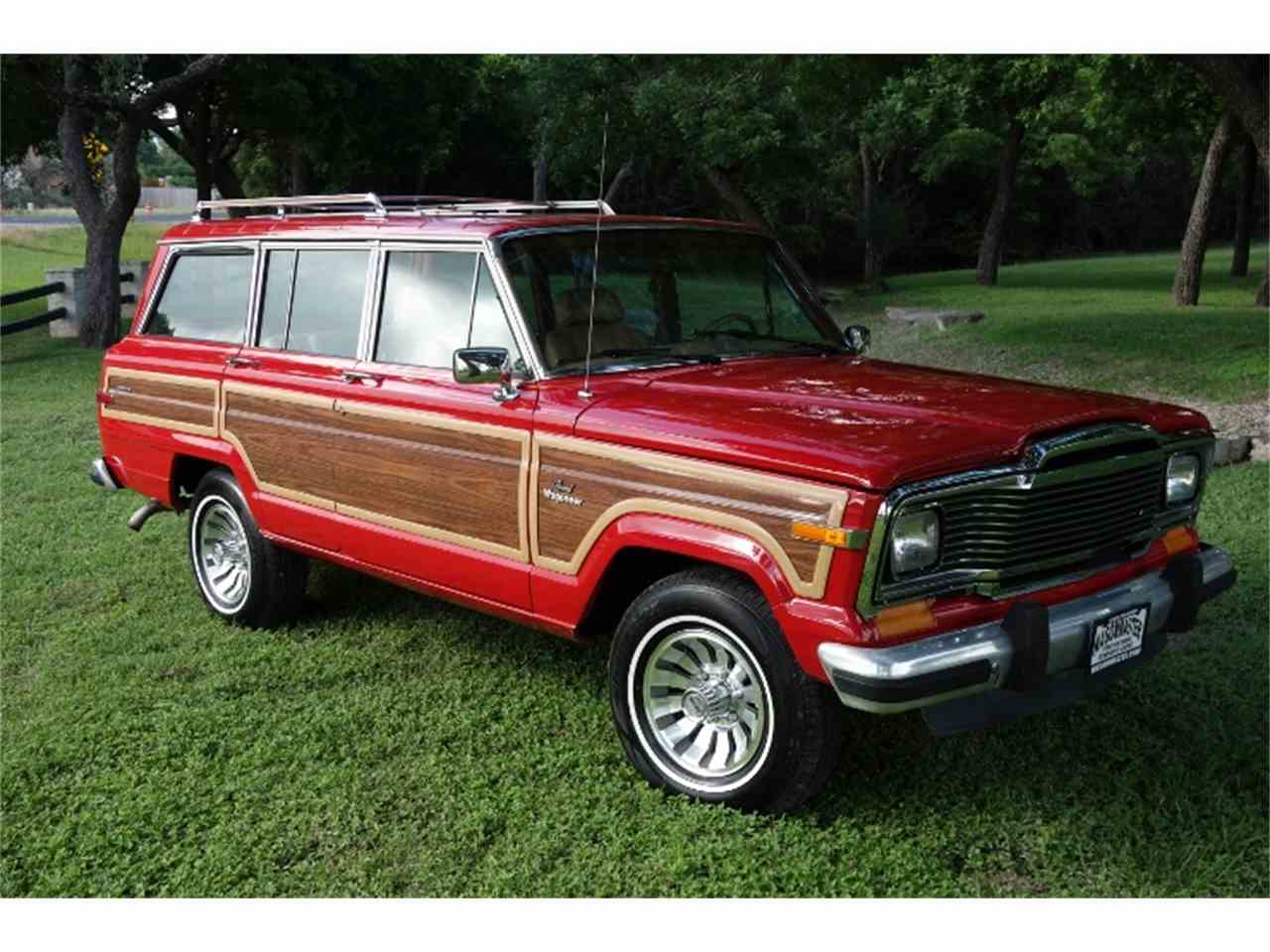 1985 jeep wagoneer for sale cc 1001395. Black Bedroom Furniture Sets. Home Design Ideas