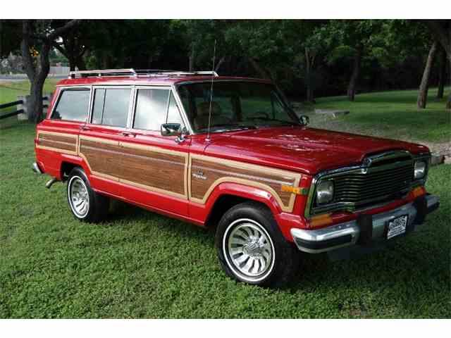 1985 Jeep Wagonmaster Grand Wagoneer | 1001395