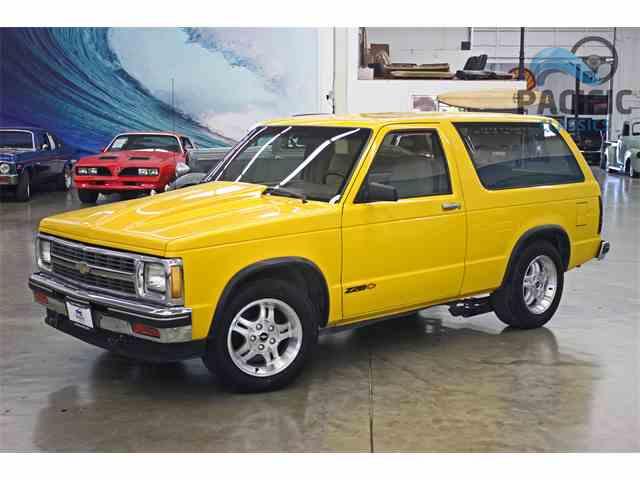 1987 Chevrolet Blazer | 1001444