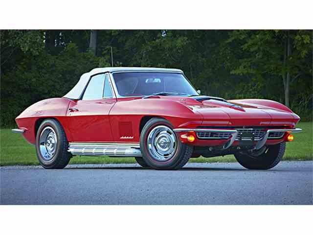 1967 Chevrolet Corvette Sting Ray 427/435 Convertible   1001475