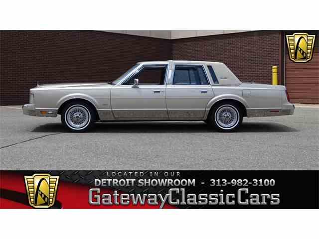 1988 Lincoln Town Car | 1001536