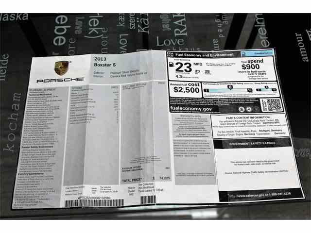 2013 Porsche Boxster | 1001545