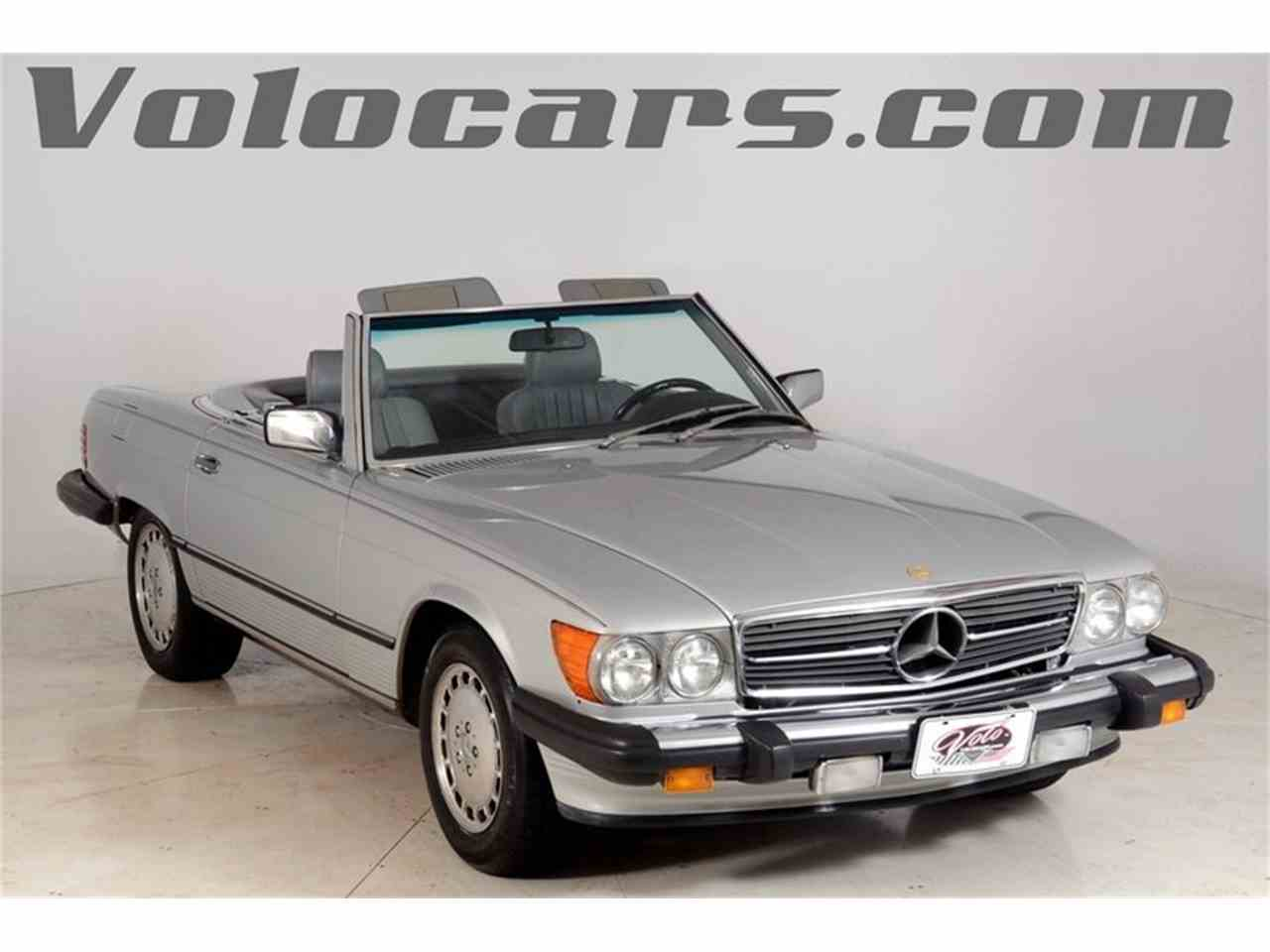 1986 Mercedes-Benz 560SL for Sale - CC-1001650