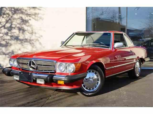 1986 Mercedes-Benz 560SL | 1001812