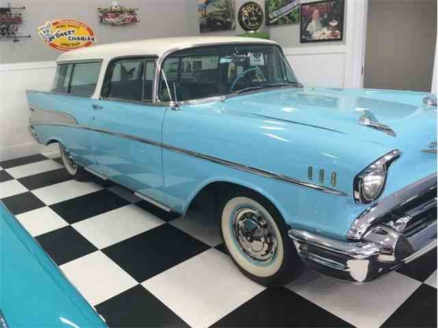 1957 Chevrolet Bel Air Nomad | 1000190