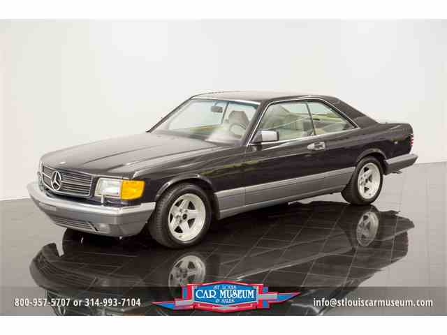 1987 Mercedes Benz 560SEC Sport Coupe | 1001944