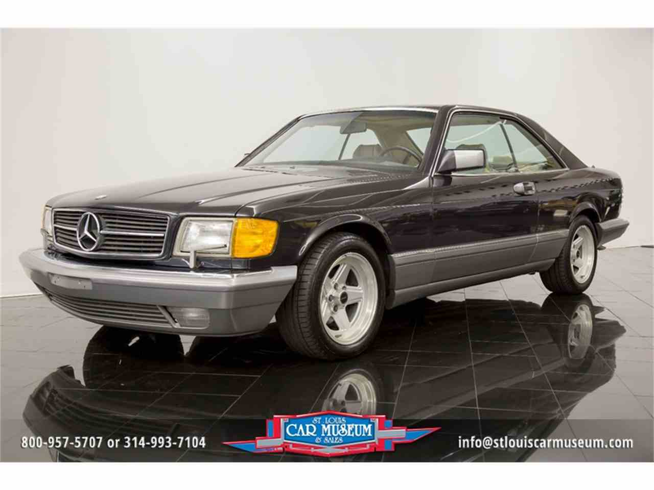 1987 mercedes benz 560sec sport coupe for sale for Mercedes benz 560sec for sale