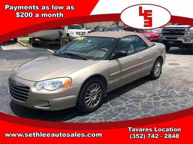 2004 Chrysler Sebring | 1002150