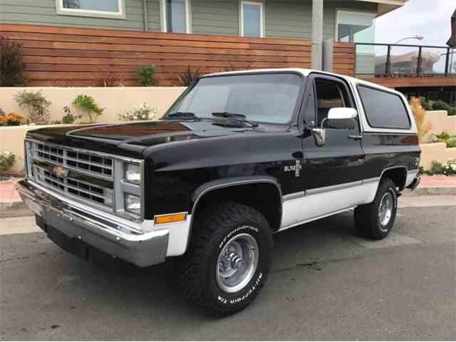 1987 Chevrolet Blazer | 1002313