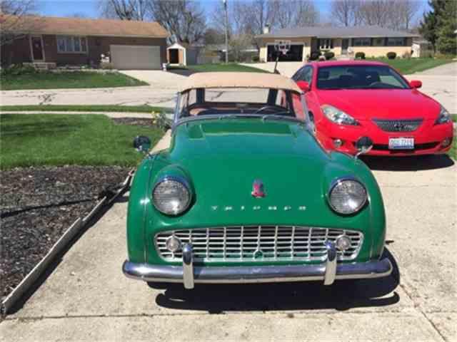 1959 Triumph TR3A   1002585