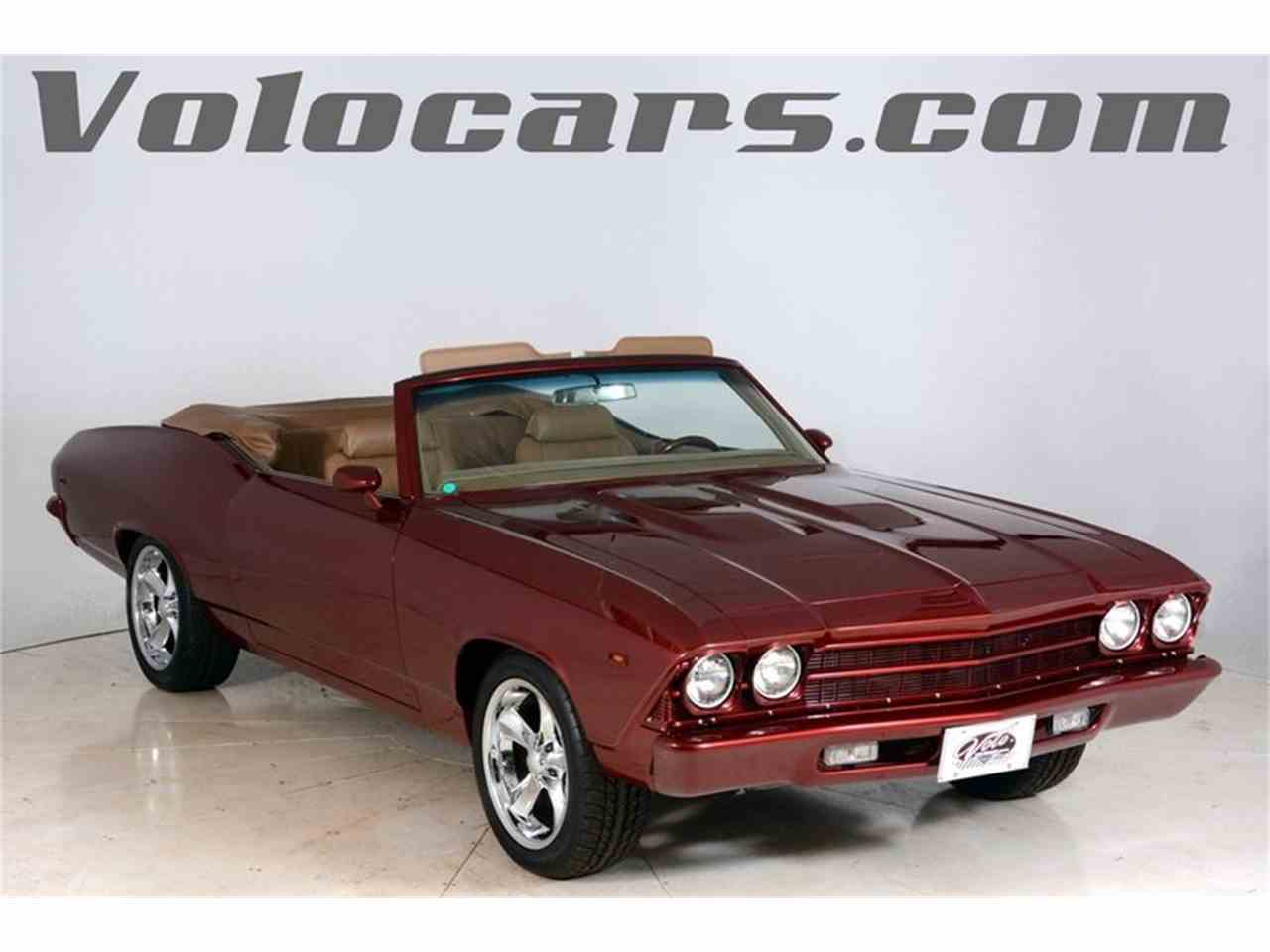 1969 Chevrolet Chevelle SS for Sale - CC-1002732