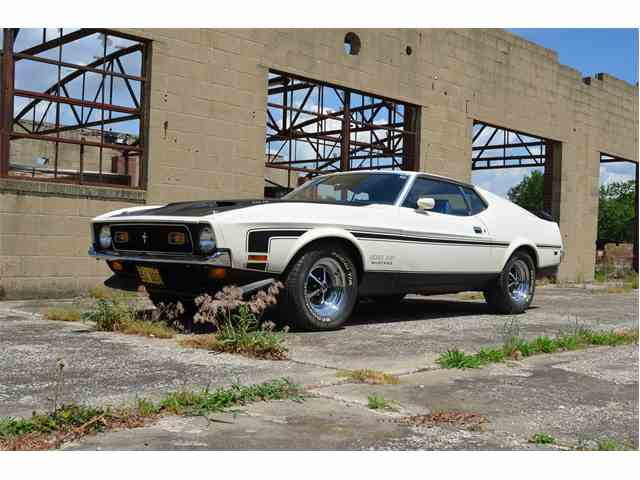 1971 Ford Mustang Boss | 1000028