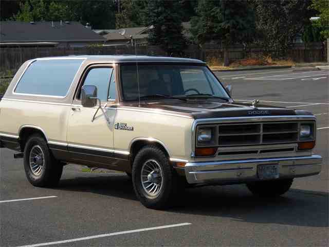 1986 Dodge Ramcharger | 1002810