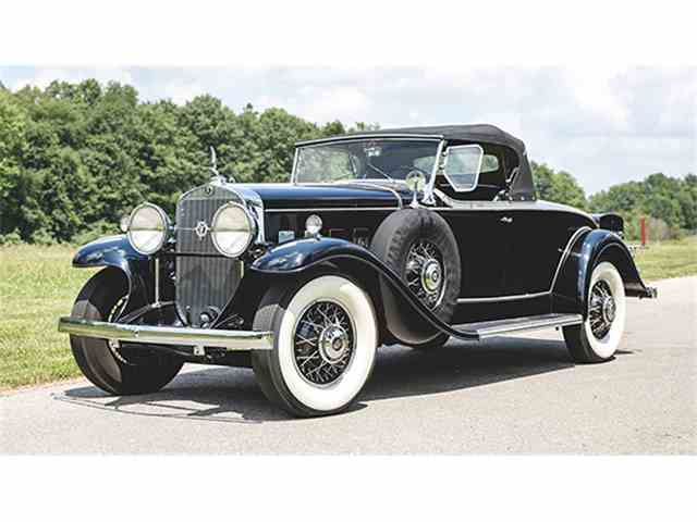 1931 Cadillac V8 Roadster by Fleetwood | 1002821