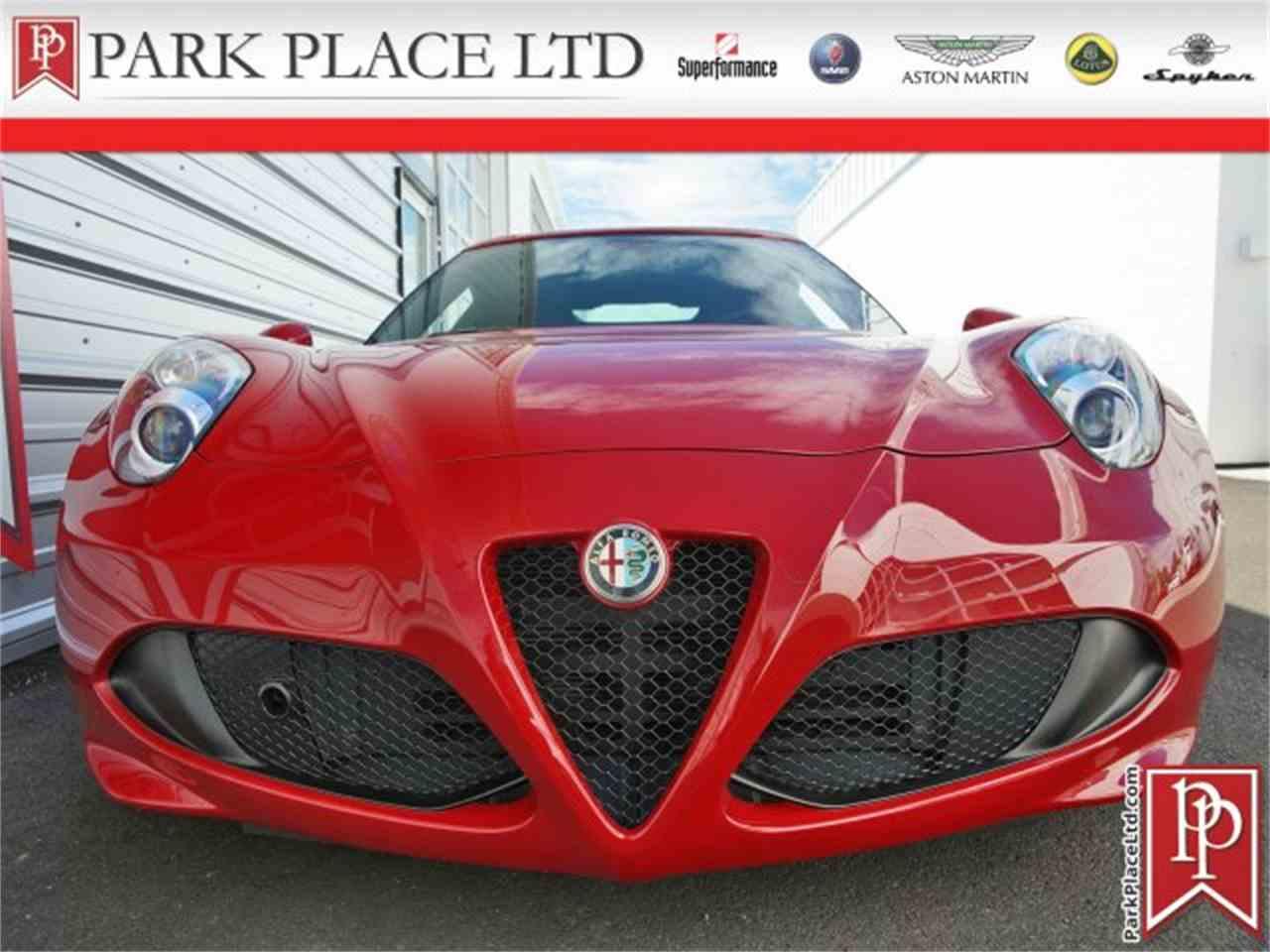 2015 Alfa Romeo 4C for Sale - CC-1002895