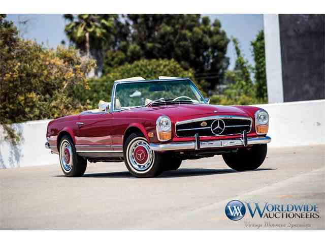 1970 To 1972 Mercedes Benz 280sl For Sale On Classiccars