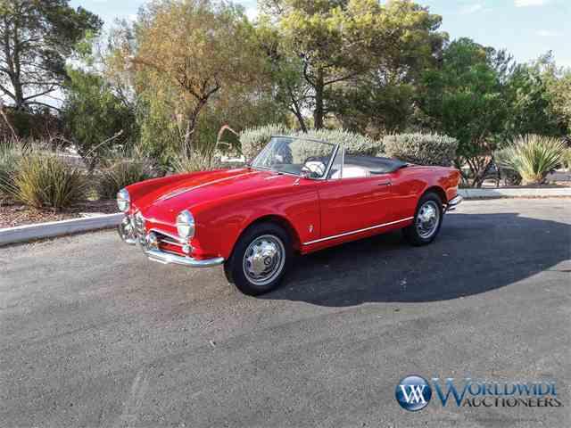 1960 Alfa Romeo Giulietta Veloce Spider 750F | 1003026