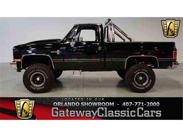 1987 Chevrolet K-10   1003164