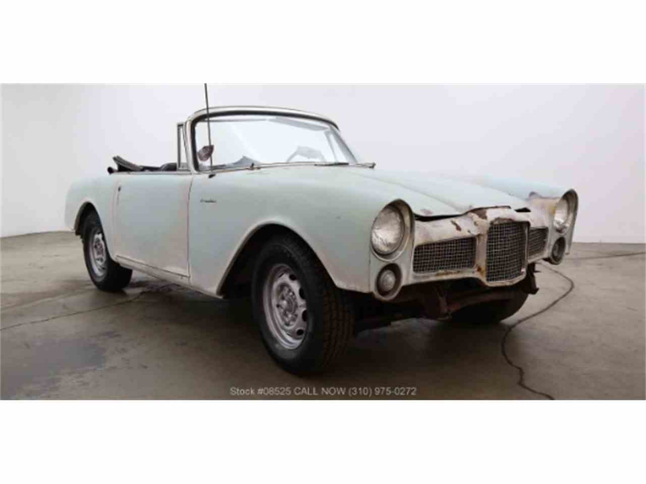 1962 Facel Vega Facilia for Sale - CC-1000321