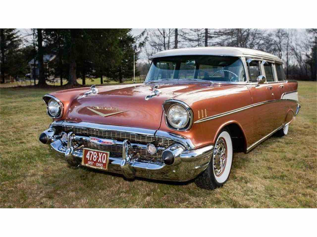 All Chevy 1957 chevy wagon for sale : 1957 Chevrolet Bel Air for Sale | ClassicCars.com | CC-1003369