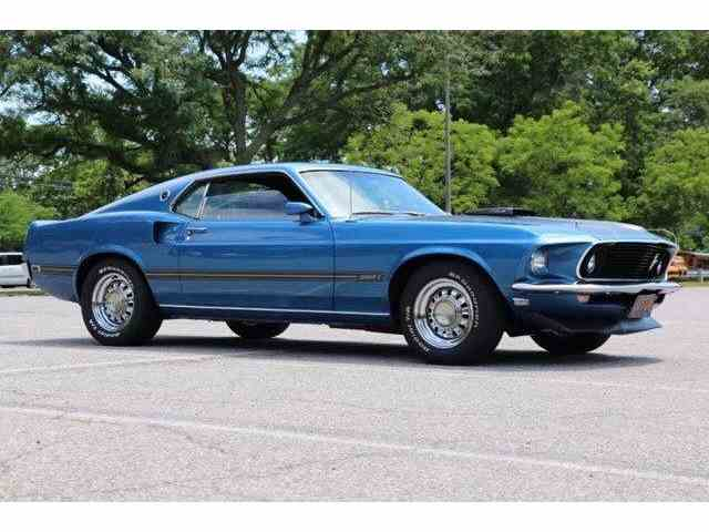 1969 Ford Mustang   1003696