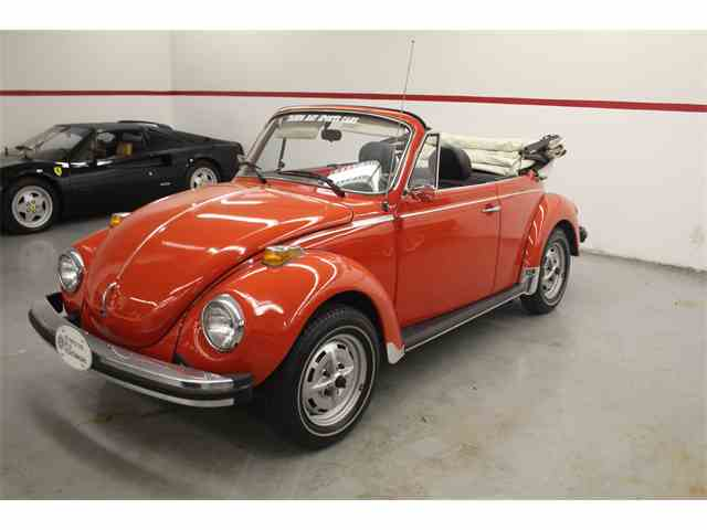 1979 Volkswagen Super Beatle Convertible | 1000037
