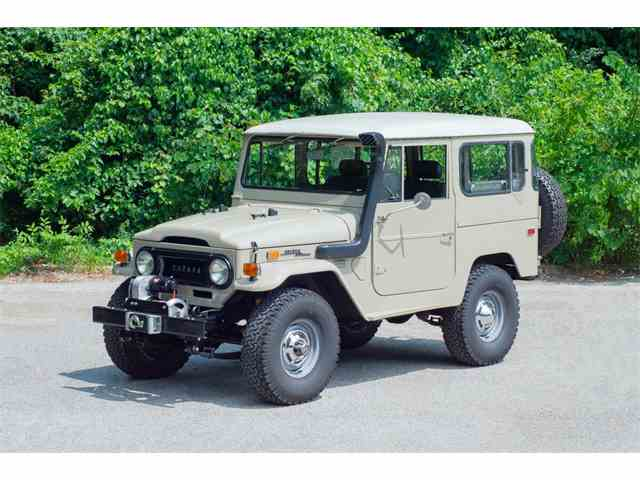 classic toyota land cruiser for sale on 105 available. Black Bedroom Furniture Sets. Home Design Ideas