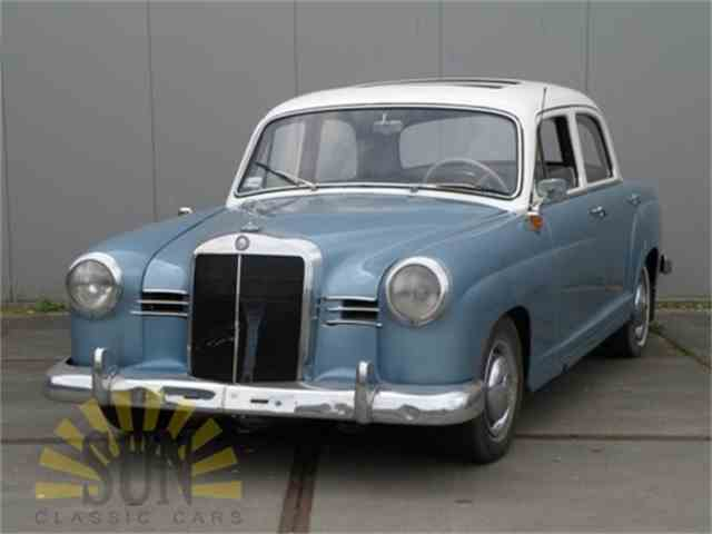 1958 Mercedes-Benz 190 Ponton | 1003812