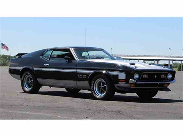 1971 Ford Mustang Mach 1 | 1004004
