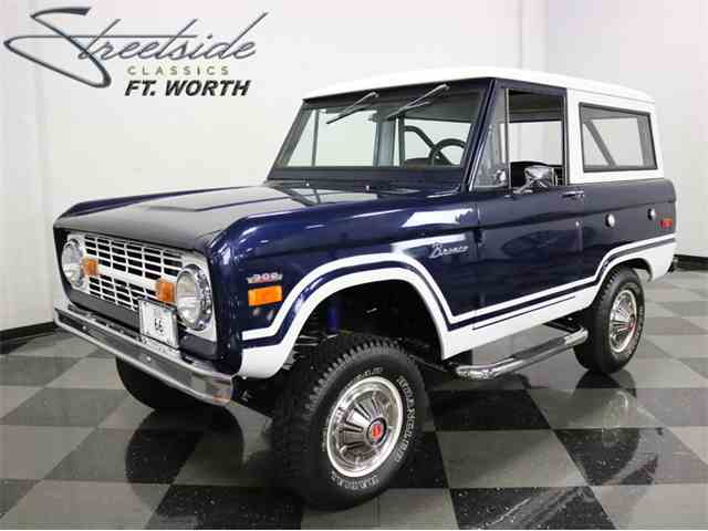 1970 ford bronco for sale on 8 available. Black Bedroom Furniture Sets. Home Design Ideas