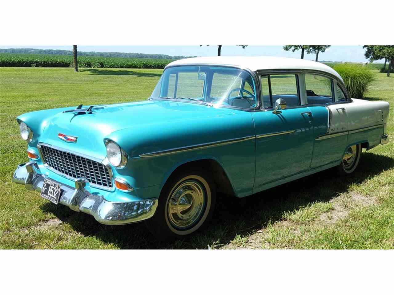1955 chevrolet bel air for sale cc 1000427. Black Bedroom Furniture Sets. Home Design Ideas