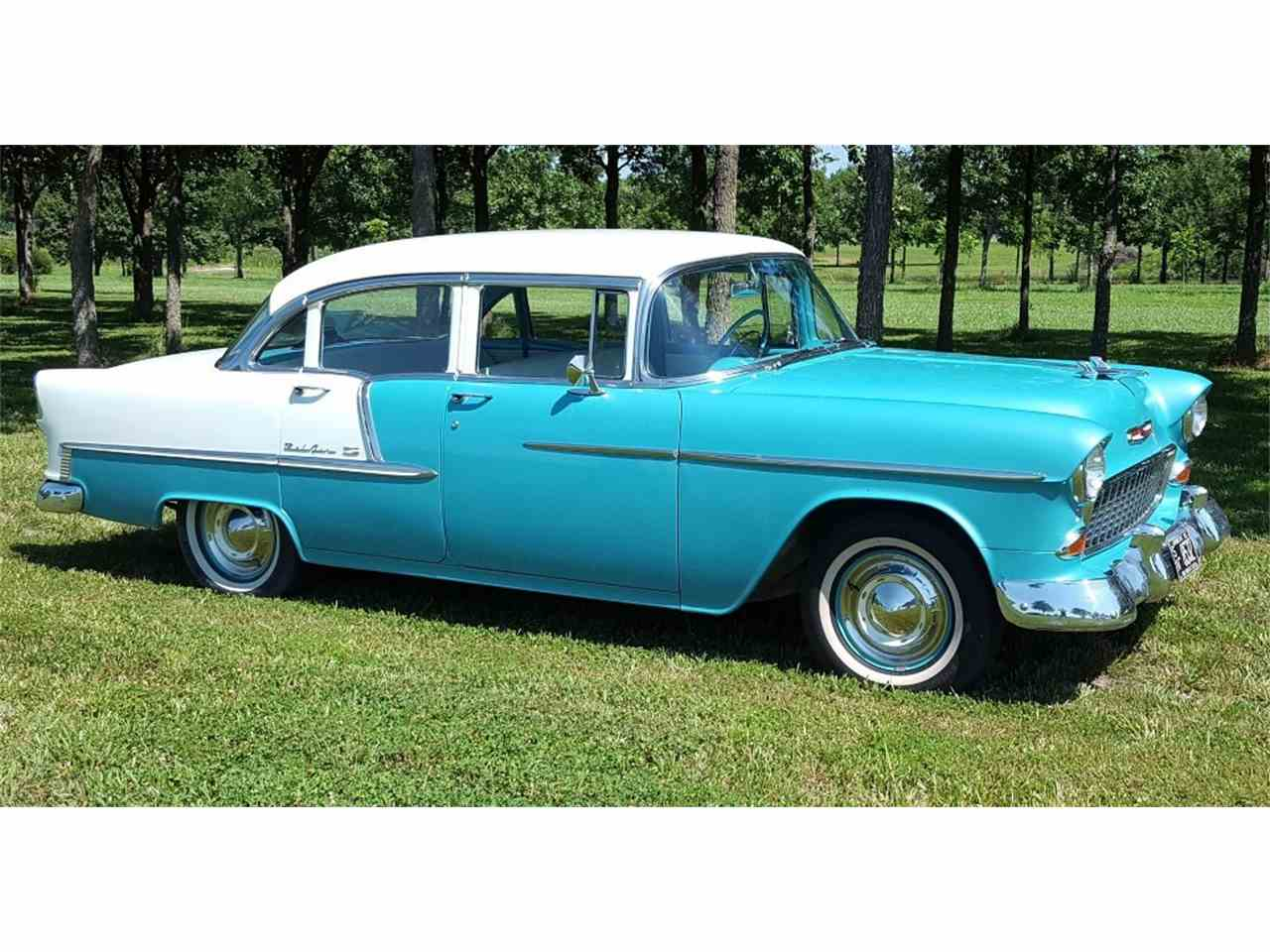 Bel Air Car >> 1955 Chevrolet Bel Air For Sale Classiccars Com Cc 1000427