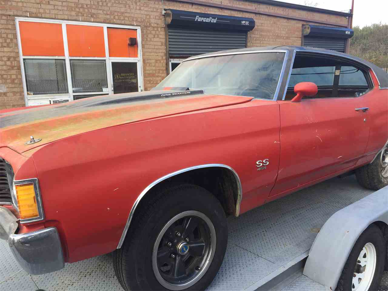Large Picture of 1972 Chevrolet Chevelle SS located in New York Offered by a Private Seller - LFXR
