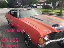 1972 Chevrolet Chevelle SS for Sale - CC-1000431