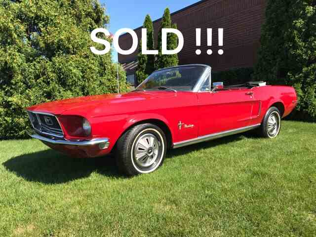 1968 Ford Mustang | 1004311